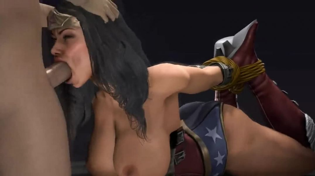 Wonder Woman Tied Up and Fucked