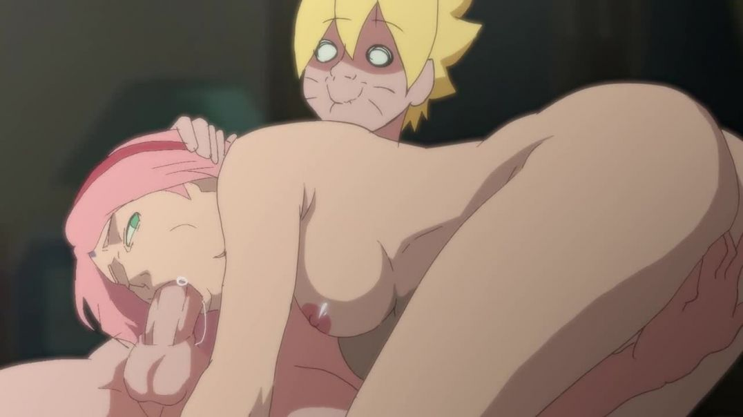 Sakura Sucking Borutos Cock