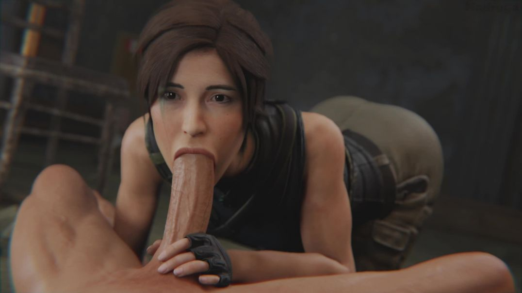 Lara Croft Oral - Cartoon Porn