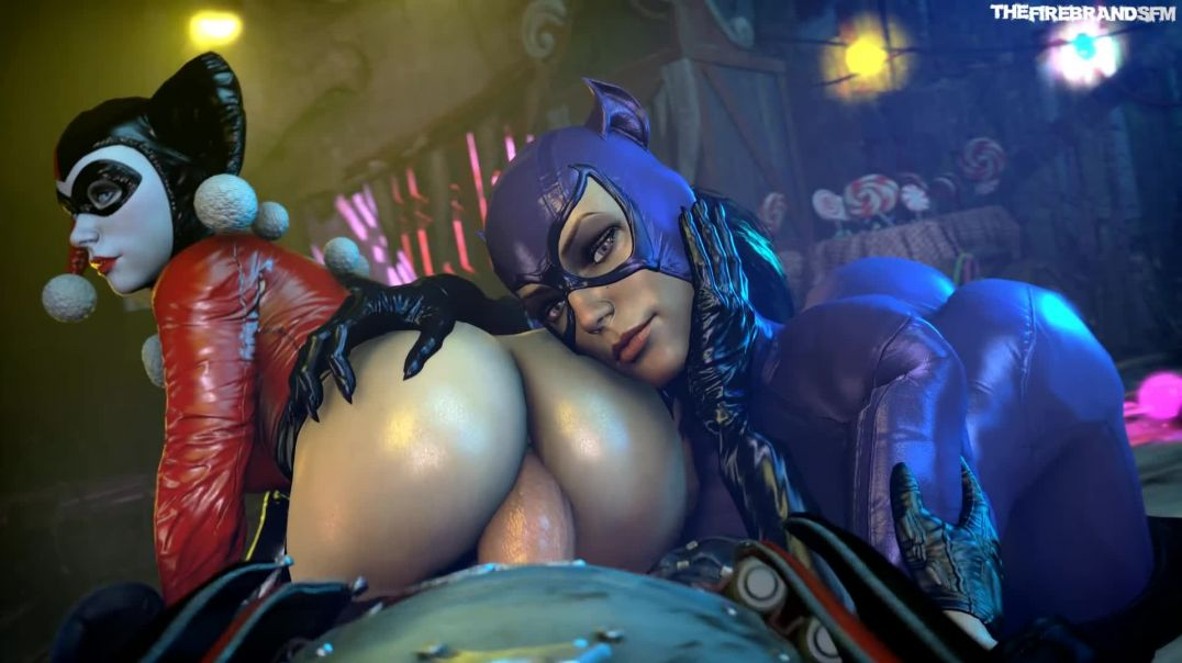 Catwoman Helps You Fuck Harley Quinn