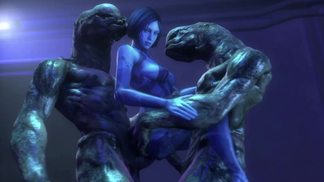 Cortana Double Penetrated By Aliens
