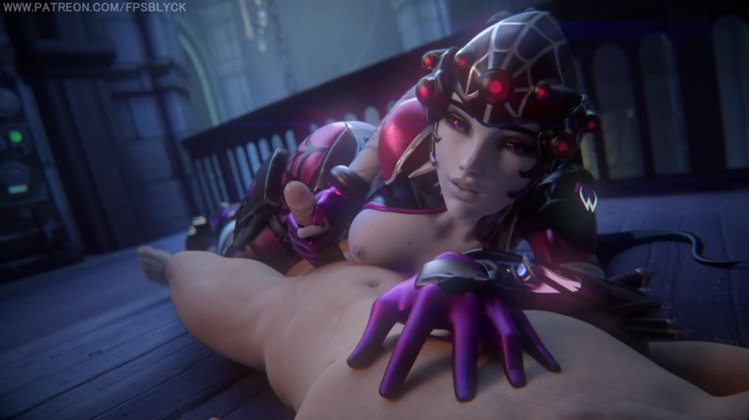 Widowmaker handjob