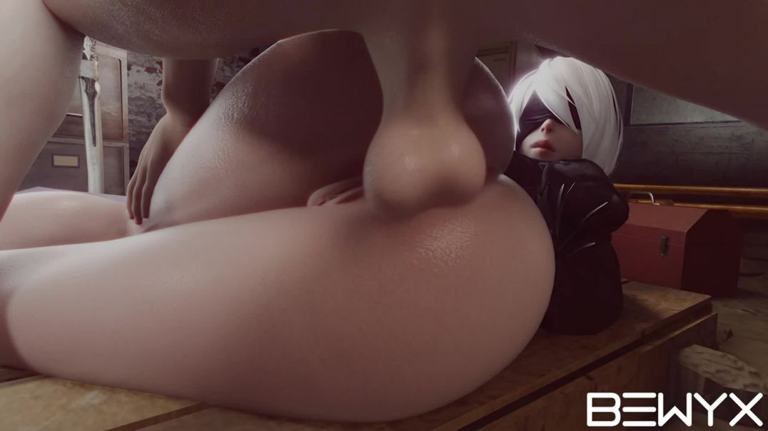 Yorha 2B Anal in her tight ass